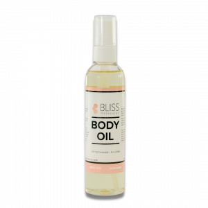 Bliss Molecules Hemp Extract Body Oil contains 200mg of hemp extract (Hemp Extract) per 8oz bottle. We designed our body oil to gently moisturize and hydrate the skin while relieving aches and pains from an active lifestyle. The oil glides on smoothly and is an excellent substitute for traditional massage oils.