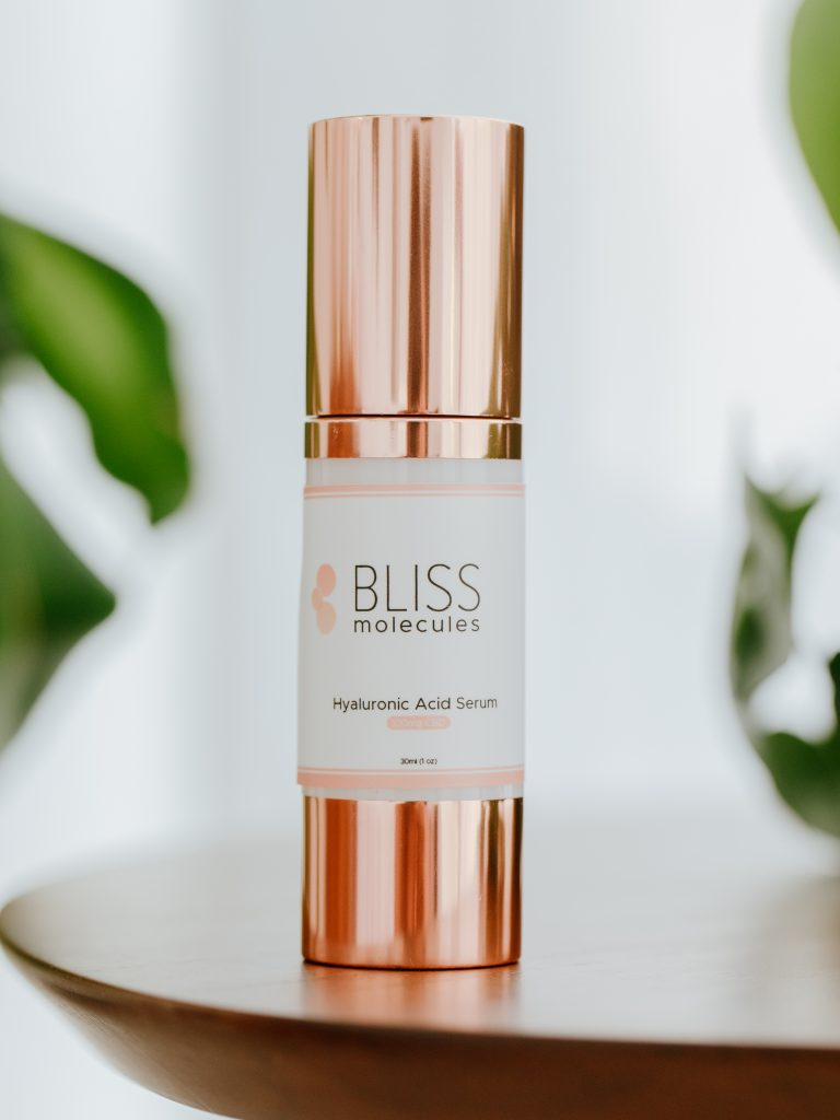 Hemp Extract-infused hyaluronic acid serum from Bliss Molecules